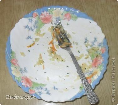 """Огромное спасибо Юле и Мише за то. что делятся с нами своими рецептами. Обед получился очень вкусным, ярким. Муж сказал """" Какой праздничный гарнирчик"""" фото 2"""