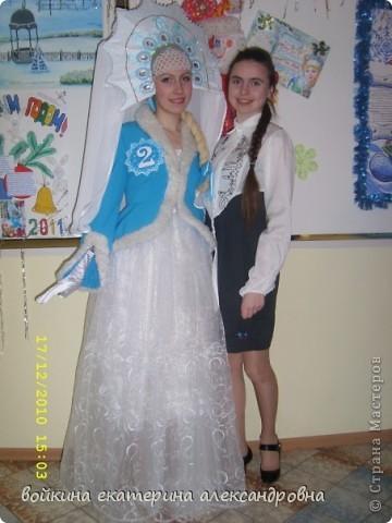 костюм снегурочки фото 2