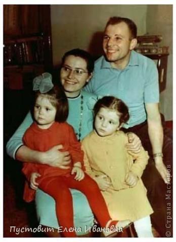 50 лет назад в нашей великой стране произошло великое событие – наш соотечественник Юрий Гагарин облетел на космическом корабле-спутнике нашу прекрасную планету ! Этому событию мы посвятили эти две свои работы. Общий вид первой композиции.  фото 9