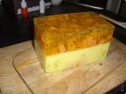 Решила сделать МК по приготовлению медового мыла в нарезке... фото 17