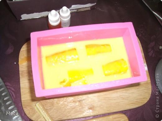 Решила сделать МК по приготовлению медового мыла в нарезке... фото 14