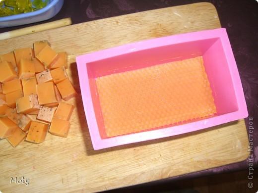 Решила сделать МК по приготовлению медового мыла в нарезке... фото 11