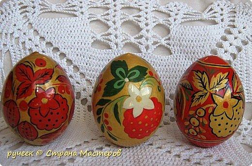 Роспись Пасхальные яйца и
