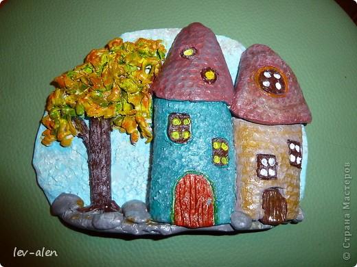Давно собиралась поповторюшничать. Очень нравятся работы Олечки olmi  из глины. Это МК ее замечательных домиков http://stranamasterov.ru/node/101881?c=favorite_a фото 2