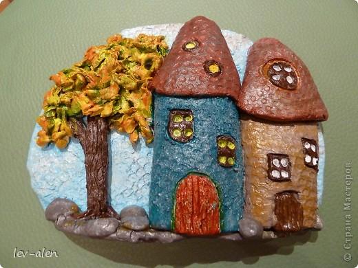 Давно собиралась поповторюшничать. Очень нравятся работы Олечки olmi  из глины. Это МК ее замечательных домиков http://stranamasterov.ru/node/101881?c=favorite_a фото 1