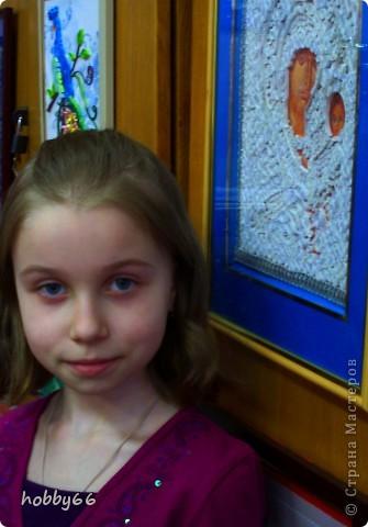 Спешу поделиться нашей новой работой. Автор Пронина Антонина. Ей очень нравится квиллинг  И ей всего восемь лет. фото 3