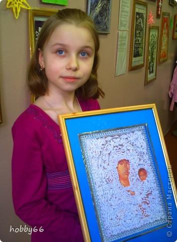 Спешу поделиться нашей новой работой. Автор Пронина Антонина. Ей очень нравится квиллинг  И ей всего восемь лет. фото 4
