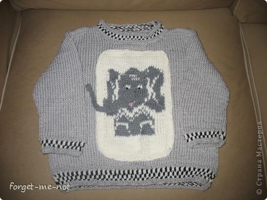 свитерок для Даника (перед) фото 1