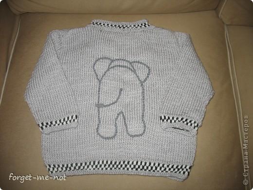 свитерок для Даника (перед) фото 2