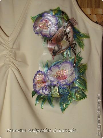 Рисунок на блузе