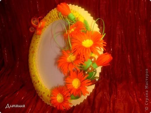 Розовая рамочка (делала для свадебного фото). фото 8
