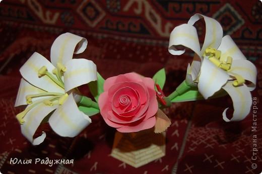 Ваза с цветочками фото 2
