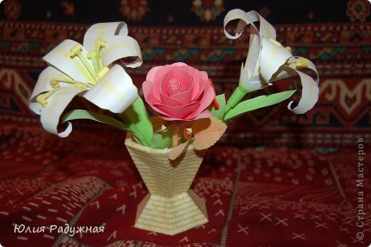 Ваза с цветочками фото 1