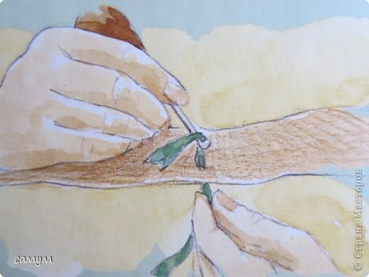 связанные крючком, протягиванием петель из лоскутных полосок через ткань( лучше мешковину) фото 4