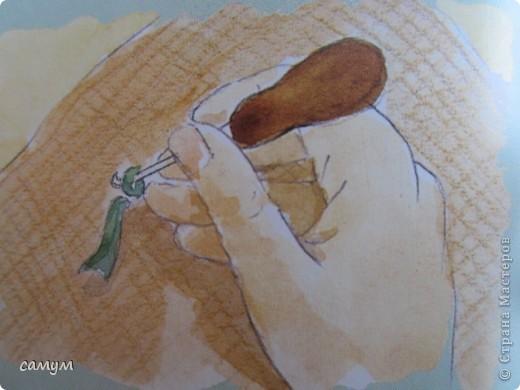 связанные крючком, протягиванием петель из лоскутных полосок через ткань( лучше мешковину) фото 5