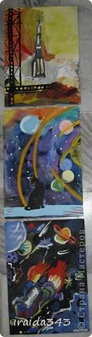 Очень благодатная тема для творчества. Рисунки ребят шестого класса. фото 9