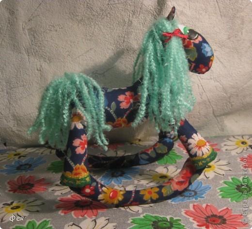 Прискакала новая лошадка:) Захотелось назвать - Ромашка:)))) фото 3