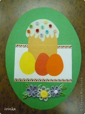 Вот такие аппликации и открытки на пасхальную тему мы делаем с детьми на кружке. Спасибо всем большое за идеи..... фото 8