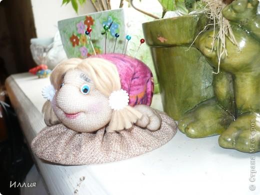 Вот и я сделала черепашку-игольницу. И так она мне нравиться... фото 2