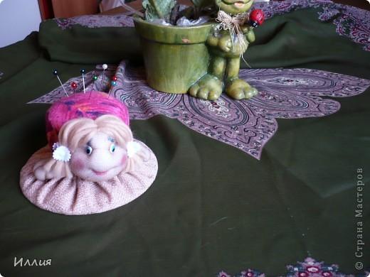 Вот и я сделала черепашку-игольницу. И так она мне нравиться... фото 1