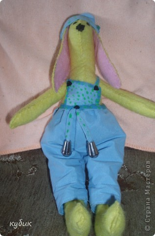 вот такого кролика я пошила на пасху для своих мальчиков:)))) фото 3