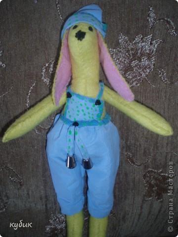 вот такого кролика я пошила на пасху для своих мальчиков:)))) фото 1