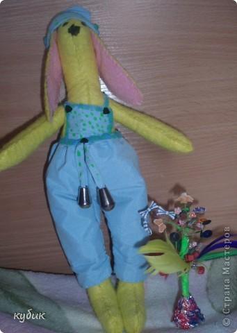 вот такого кролика я пошила на пасху для своих мальчиков:)))) фото 9