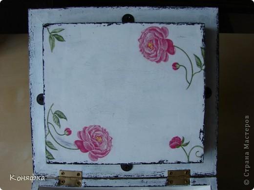 Совсем недавно сделала вот такую шкатулочку для швейных принадлежностей фото 9