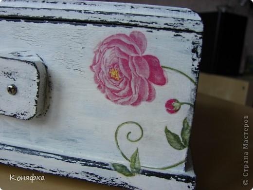 Совсем недавно сделала вот такую шкатулочку для швейных принадлежностей фото 8