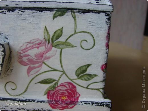 Совсем недавно сделала вот такую шкатулочку для швейных принадлежностей фото 7