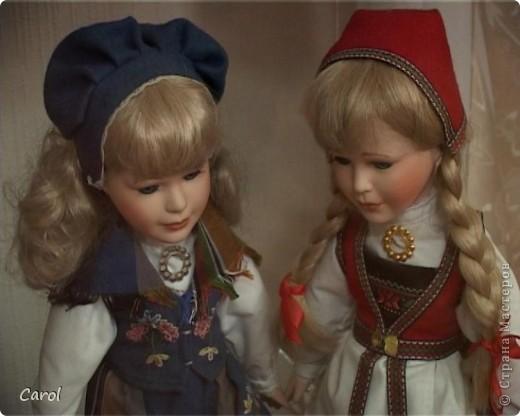 Кэрол - кукла из коллекции Knightbridge (Англия - Ирландия), высота 51 см фото 4