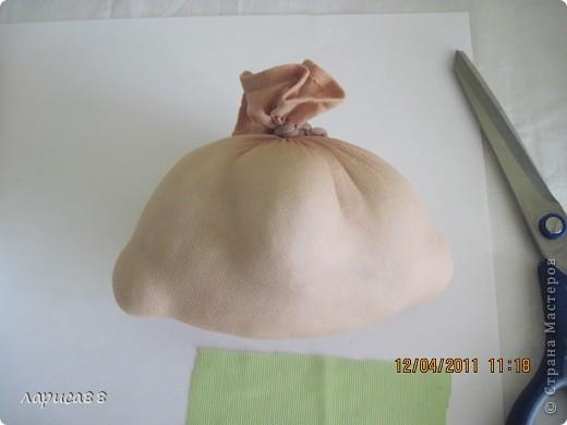 Вот такая кукла-попик должна получиться, размер примерно как яблоко средней величины. фото 4