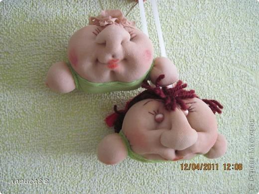 Вот такая кукла-попик должна получиться, размер примерно как яблоко средней величины. фото 1