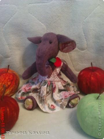 Интерьерная игрушка Слон