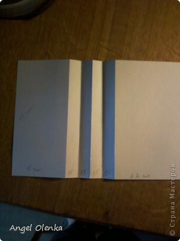 Сегодня я покажу вам как делала каскадный блок в альбом для Солнышка. фото 3