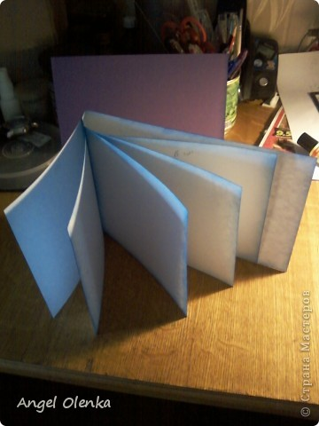 Сегодня я покажу вам как делала каскадный блок в альбом для Солнышка. фото 1
