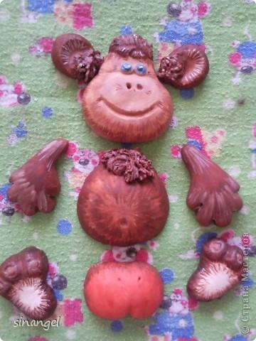 Поделки обезьяны своими руками из соленого теста 114