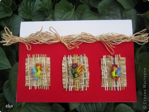 Пасхальные петушки. фото 1