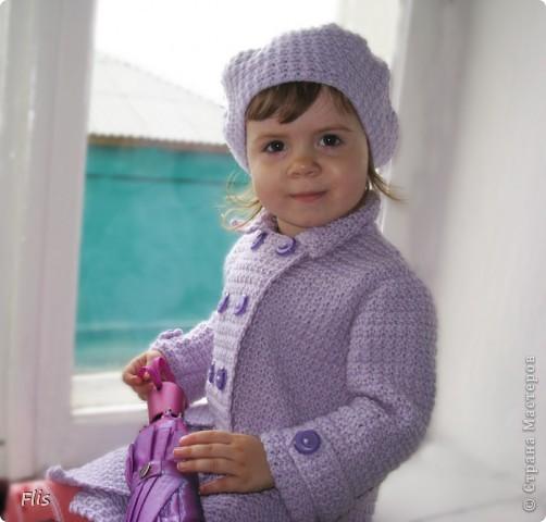 Пальто детское фото 3