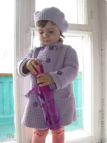 Пальто детское фото 2