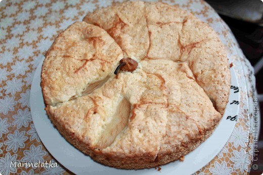 Пирог с грушами фото 2