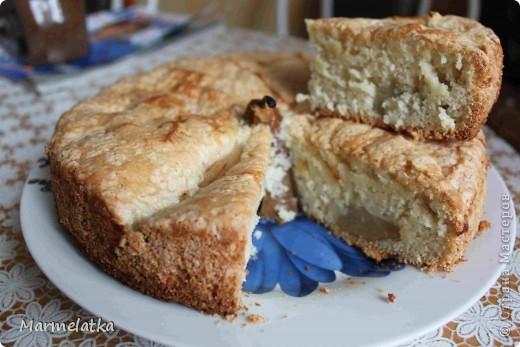 Пирог с грушами фото 1