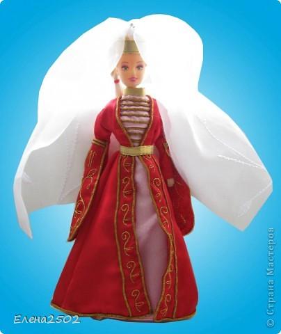 Адыгейский национальный костюм.