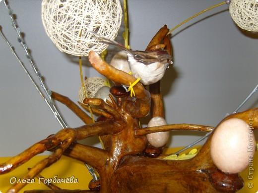 Яйца(скорлупа)красила нитками по М.К.Олисандры.Нитки советских времён,яркие,но яркая окраска не получилась. фото 4