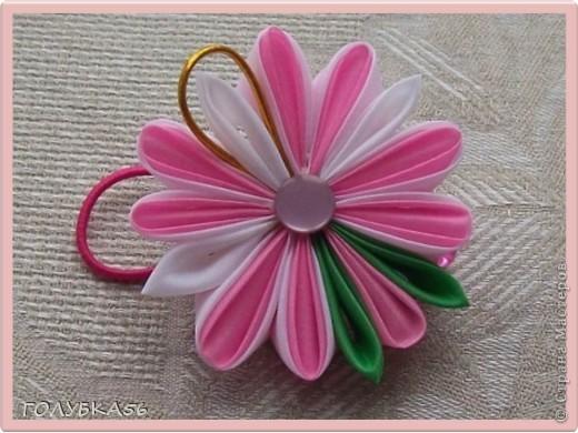Розовая сказка. Канзаши. фото 2