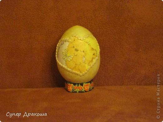 """Пасхальное яйцо """"Медвежонок"""""""