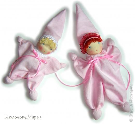 Вальдорфские куклы-бабочки фото 1