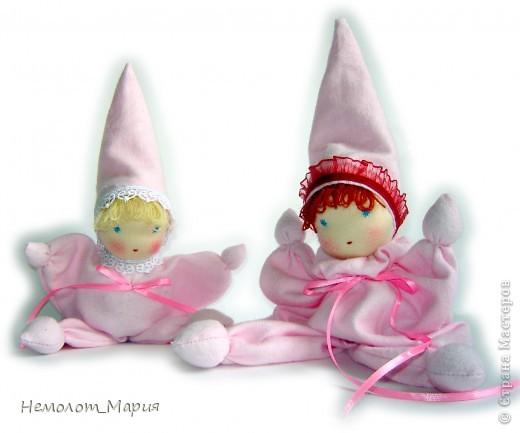 Вальдорфские куклы-бабочки фото 2