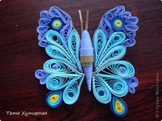 Попытка сделать бабочку