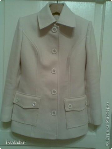 Сшила для себя пальто на весну.